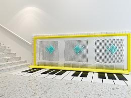 幼儿园走廊阳台