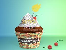 c4d 蛋糕模型