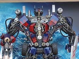 金属诱惑制作大型变形金刚智能艺术机器人
