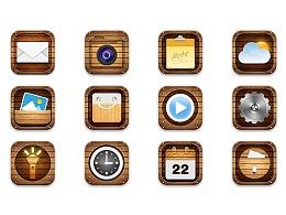 木纹复古手机主题