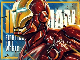The IronMan Fighting For the World