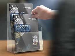 机械仪器类画册公司产品手册