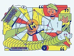 玩出精彩 只为出色 - 麦本本笔记本外壳图案设计