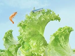 食之风景 \ 食物造型风景大片