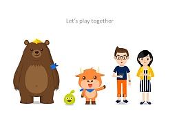 视频动画 — TU family 包装