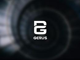 【微光】GERUS Logo Design 格瑞斯科技标志设计