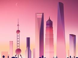 shanghai&dusk