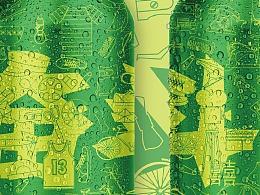 七喜【1980-2010】-包装罐设计