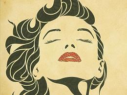《她》——手绘创意肖像