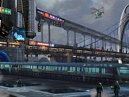 小作《未来穗城》 