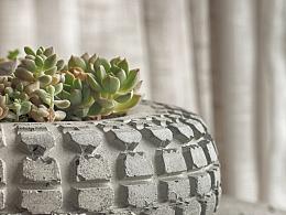 只是混凝土做的轮胎而已