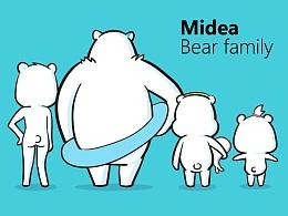Midea熊家族