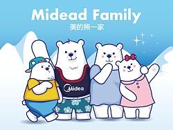 美的熊一家——Midead Family