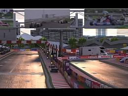 2016年做的F1赛车场分镜单帧。
