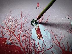 【縛海集—紅顏—紅瓶兒—鹿丫—白繡犼】翔魚—附過程