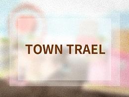 C4D 低多边形 TOWN TRAVEL 小镇旅行