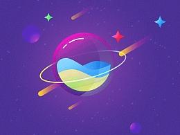 小练习-玻璃星球