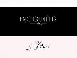 LOGO设计:遇言 Y`YAN/ENCOUNTER