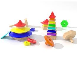 美丽中国—儿童积木设计