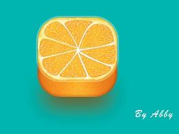 橘子小图标
