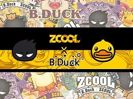 ZCOOL   X   B.DUCK联名扑克图腾