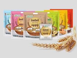 涵象设计/柬埔寨香米米饼包装