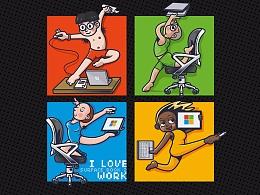 Surface book2 -我爱工作!