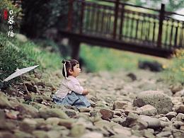 汉服小萝莉之日暮河桥