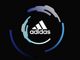 adidasWomen由我创造H5插画设计