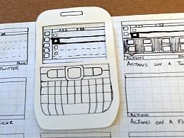 为什么我选择使用原型工具来代替纸原型
