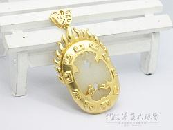 代波军艺术珠宝定制-古玉-玉鸟飞上枝头变凤凰