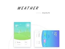 天气插画-design