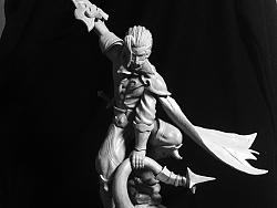 兰陵王斩杀黑暗暴君1/8雕像
