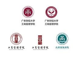 学校工商管理学院的院徽设计