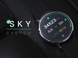 In Sky System_智能手表应用