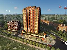 住宅楼规划设计