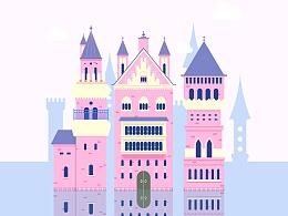 【教程练习】水上城堡