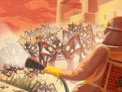 SANDKINGS 乔治马丁科幻短篇小说《沙王》动态插图插画