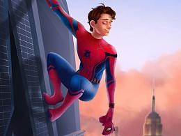 蜘蛛侠 英雄归来 Spider-Man: Homecoming FAN ART