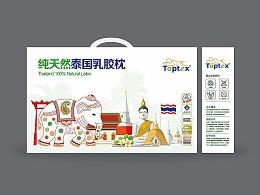 乳胶枕包装设计