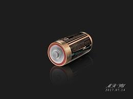 Photoshop鼠标绘画——电池