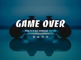 GUI练习#主机游戏玩家交流平台APP