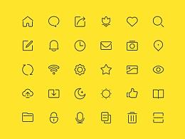 48px线性Icon