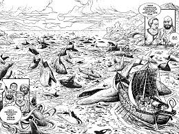 几页法国漫画