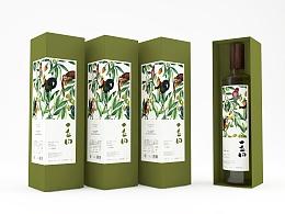 橄榄油包装一丘田橄榄油包装设计
