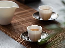 白瓷茶杯 品茗杯 白玉瓷