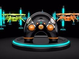 四轴遥控飞行器产品三维宣宣传片
