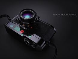 【KeyShot6+PS】莱卡相机渲染