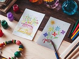 一心一意爱设计 站酷11岁生日快乐