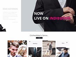 ClothesMake 在线西服定制平台